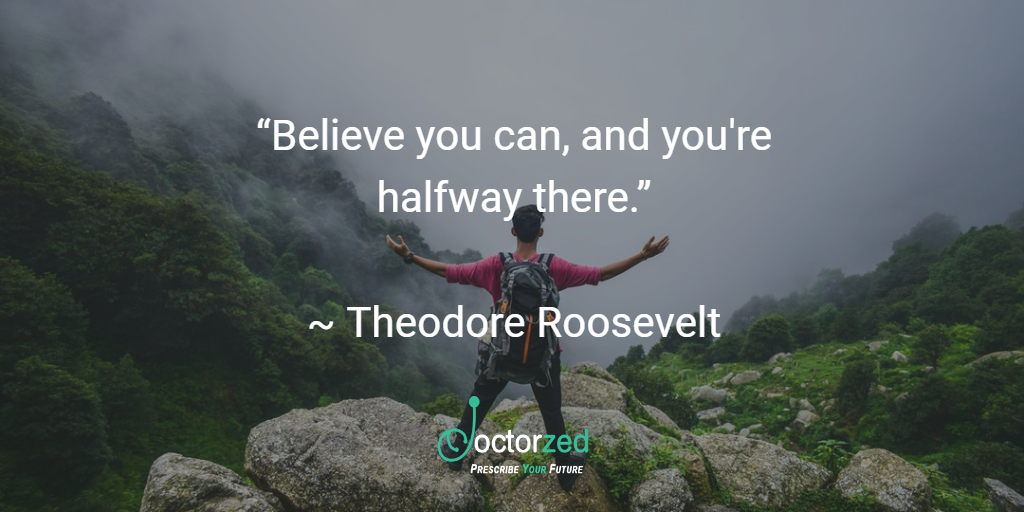 believe you can - Roosevelt