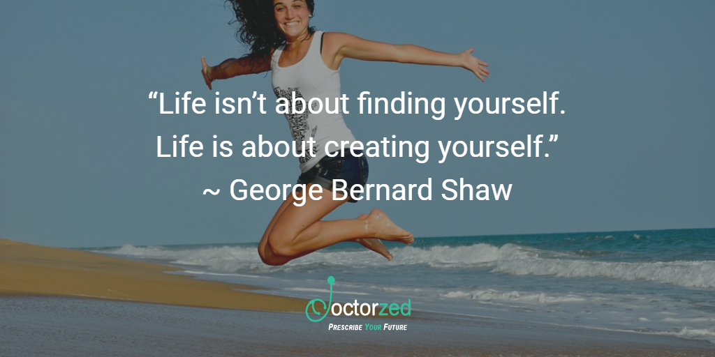 create your life - B Shaw
