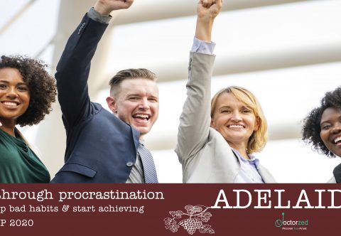 Breaking Through Procrastination | Adelaide