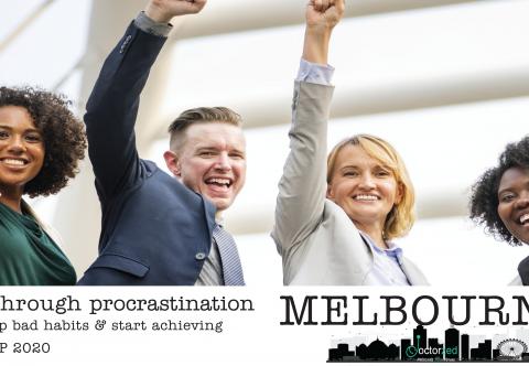 Break Through Procrastination - Melbourne